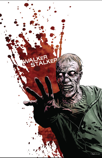 Walker Stalker Con London Event Poster by Charlie Adlard