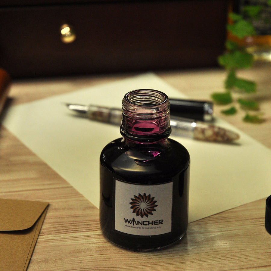 Colorful Silk Road - Asuka Brown -100 ml Bottled Ink - Wancher Pen