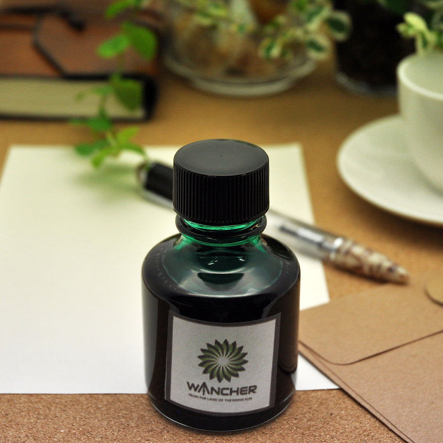 Colorful Silk Road - Matcha Green Tea -100 ml Bottled Ink - Wancher International