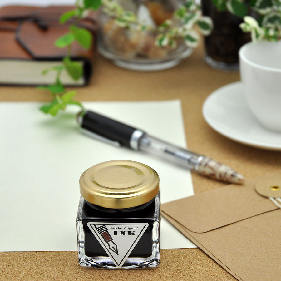Wancher Colorful Silk Road Ink Asuka Brown 30 ml Bottle