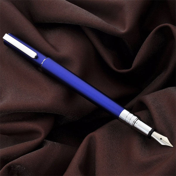 Juvenile Blue Fountain Pen - Wancher Pen