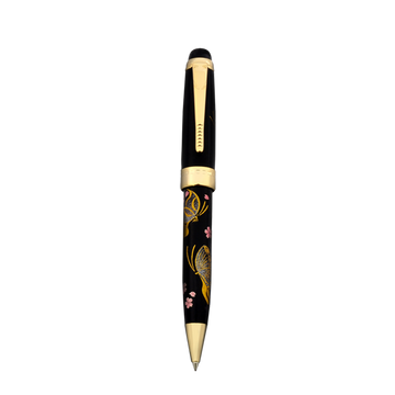 Oshita Maki-e - Butterfly - Large Size Ballpoint Pen - Wancher International