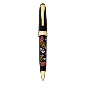 Wancher Oshita Makie Ballpoint Pen Plum Flower