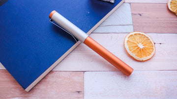 Precision Tangerine Fountain Pen - Wancher International