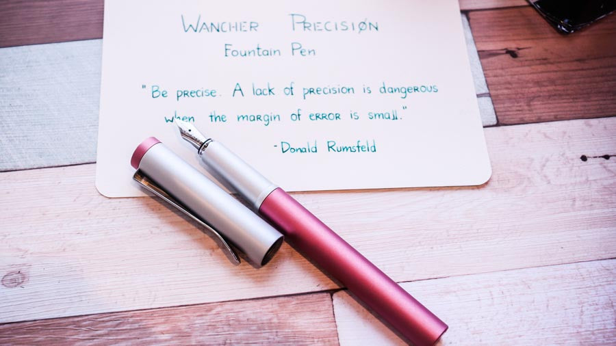 Precision Coral Pink Fountain Pen - Wancher International