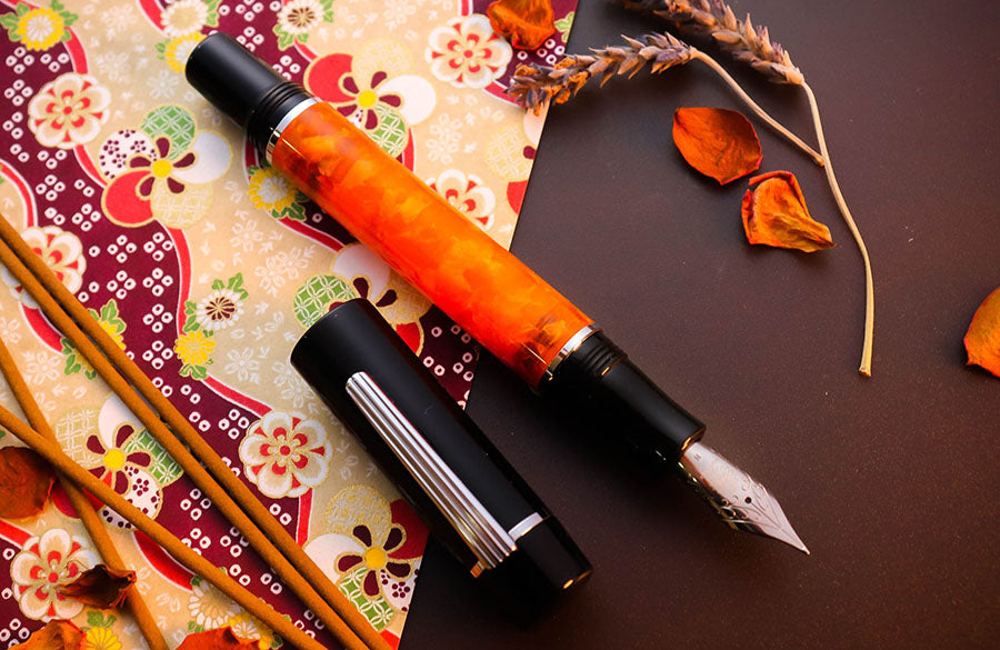 Zen - Fire Fountain Pen - Wancher Pen
