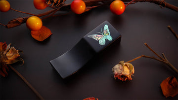 Urushi Pen Pillow - Chou - Butterfly Pen Pillow - Wancher Pen