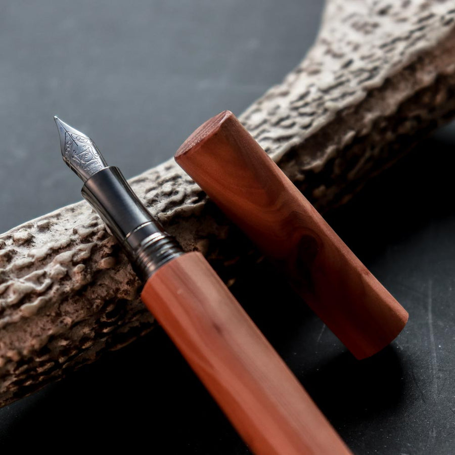 Marukata - Cypress Fountain Pen - Wancher International