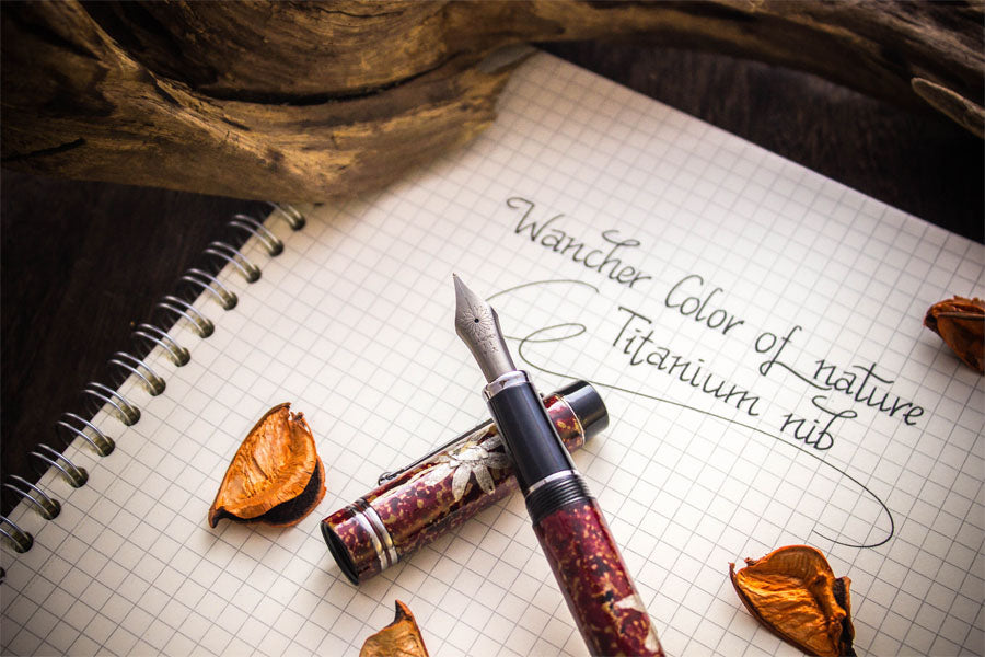 Colors of Nature - Cosmos - Titanium Nib Fountain Pen - Wancher International