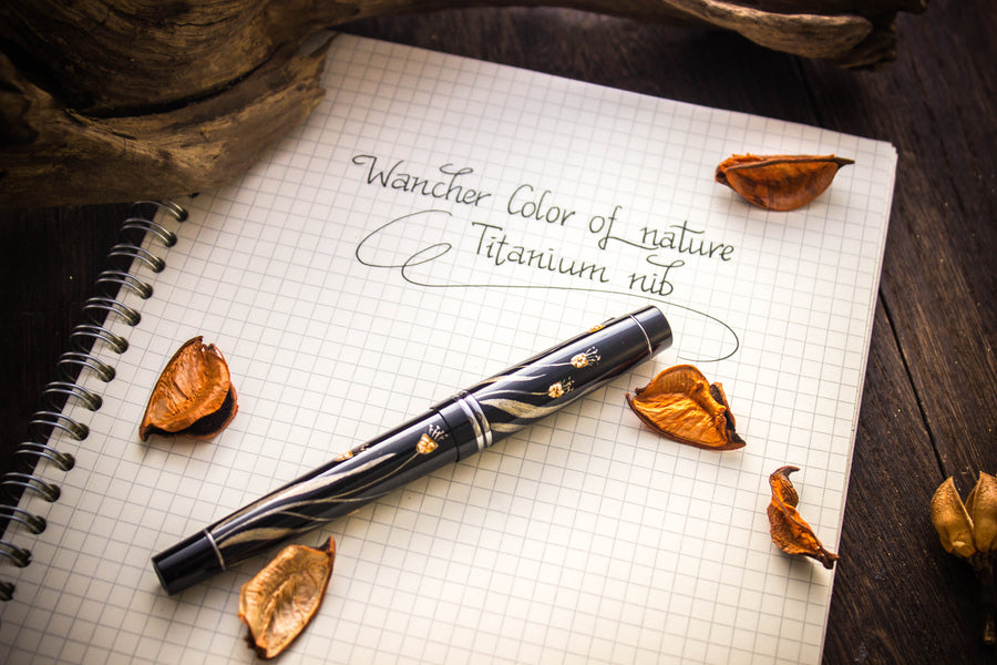 Colors of Nature - Orchid - Titanium Nib