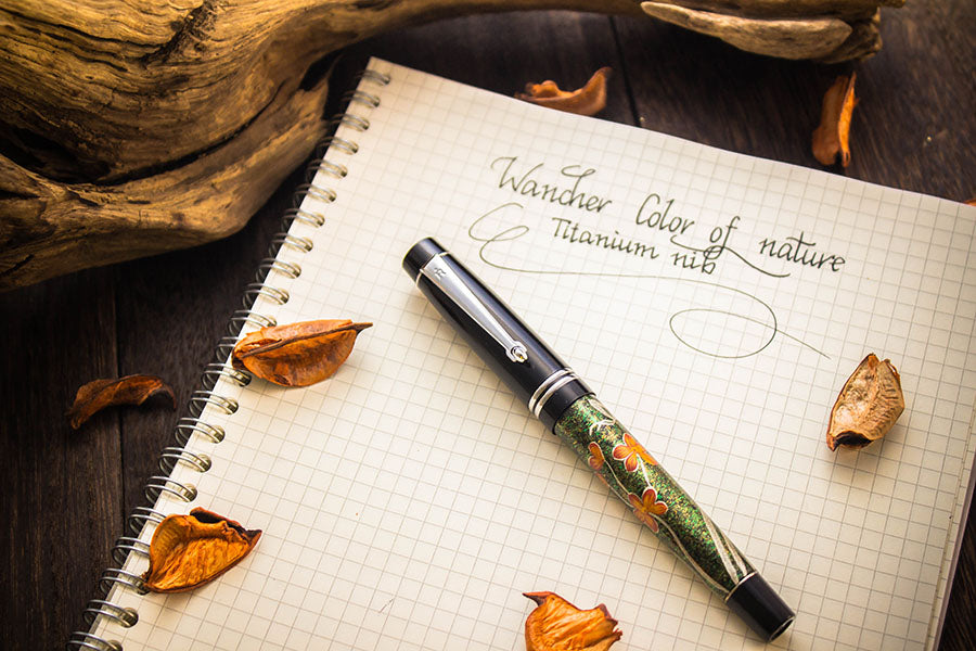Colors of Nature - Lilium - Titanium Nib Fountain Pen - Wancher International