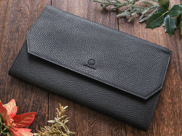 Penfolium 12 Pen Portfolio - Black [Prototype Sale] Pen Case - Wancher Pen