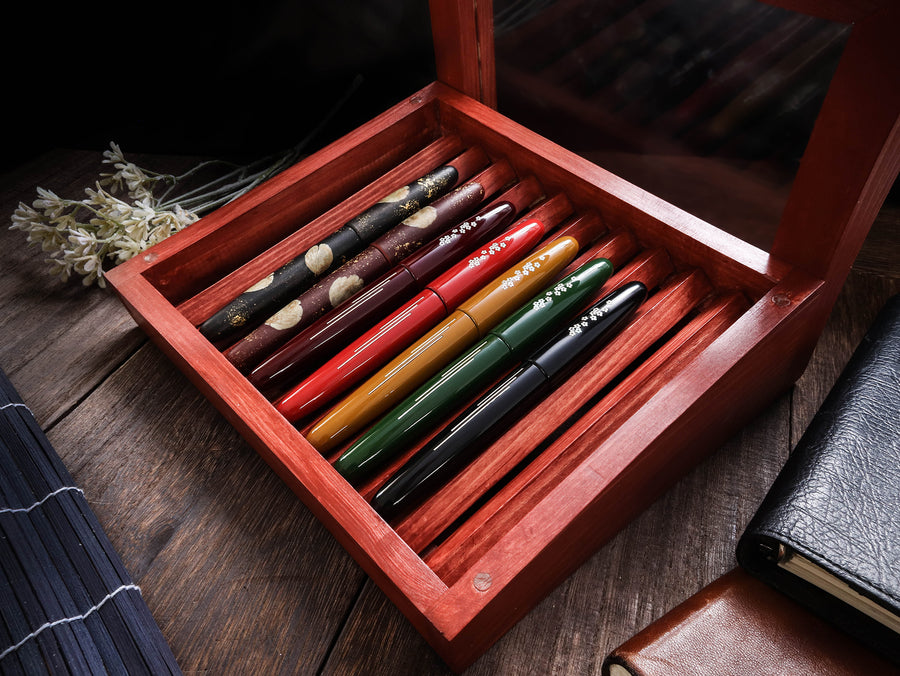 Dream Pen Box - Red Brown Pen Box (empty) - Wancher Pen