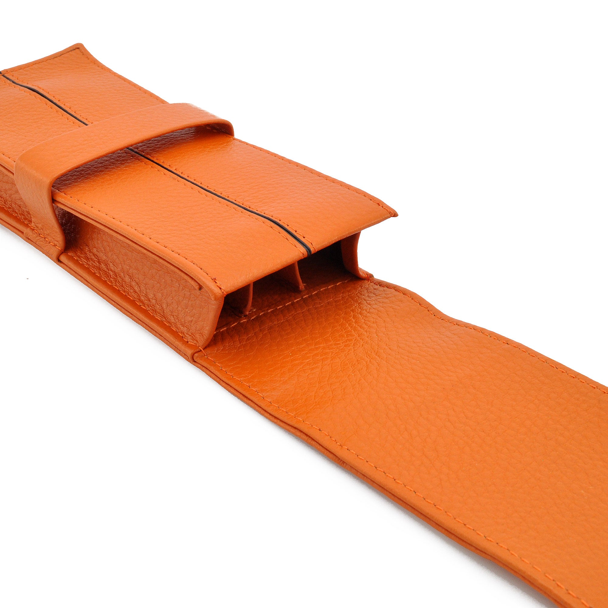Penbrace 3 Pen Pouch - Orange Pen Case - Wancher Pen