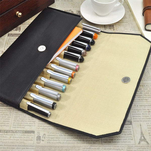 Penfolium 13 Pen Portfolio - Black Pen Case (empty) - Wancher International
