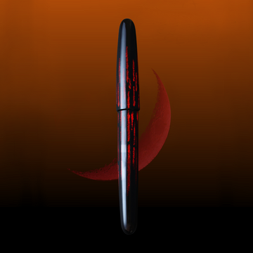Tsuki - Red Fountain Pen - Wancher Pen