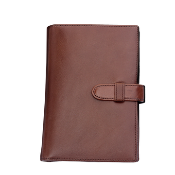 Penfolium Compact Portfolio - Brown Pen Case (empty) - Wancher International