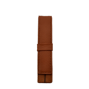 Penbrace 1 Pen Pouch - Red Brown - Wancherpen International