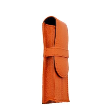 Penbrace 2 Pen Pouch - Orange-Black - Wancherpen International