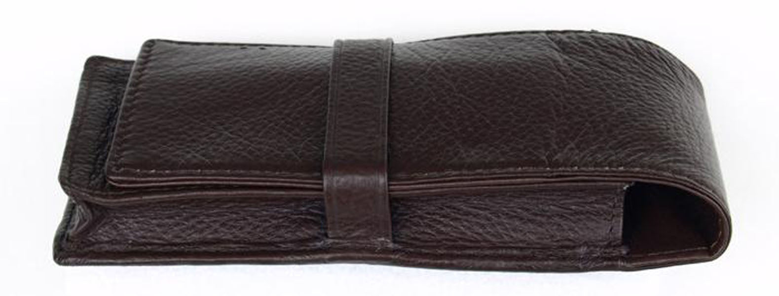 Penbrace 3 Pen Pouch - Brown Pen Case - Wancher Pen