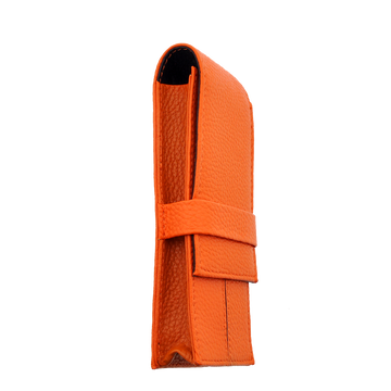 Penbrace 3 Pen Pouch - Orange-Black Pen Case - Wancher International
