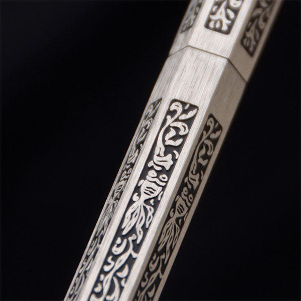 Hexabesco Silver Ballpoint Pen - Wancher International