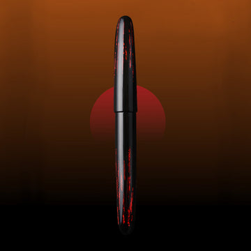 Taiyo - Red Fountain Pen - Wancher Pen