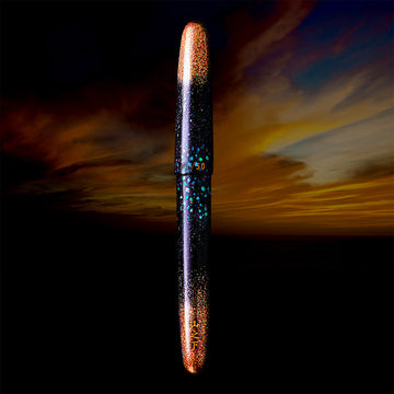 Raden Nashiji Civil Twilight Fountain Pen - Wancher Pen