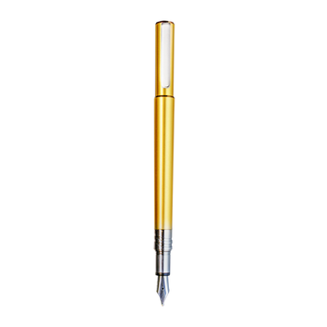 Juvenile Gold Champagne Fountain Pen - Wancher International