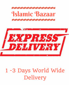 WorldWide Express Shipping 3-4 Business Days to US Canada, 1-2 Days to Europe, Shipping Everywhere, PLEASE Leave Your Phone Number - islamicbazaar
