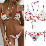 Roses and Cream Frill Top Bikini - musthavesexy