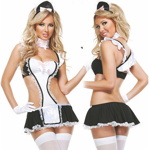 Upstairs Maid Bedroom Costume - musthavesexy