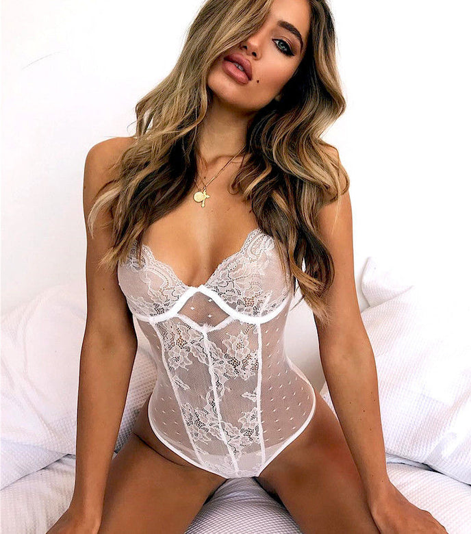 Bustier Style Bodysuit - musthavesexy