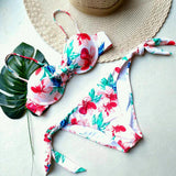 Tropical Wonderland Floral Bikini Set - musthavesexy