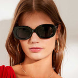 Oversized Retro Thick Chunky Oval Sunglasses - 7 Styles - musthavesexy