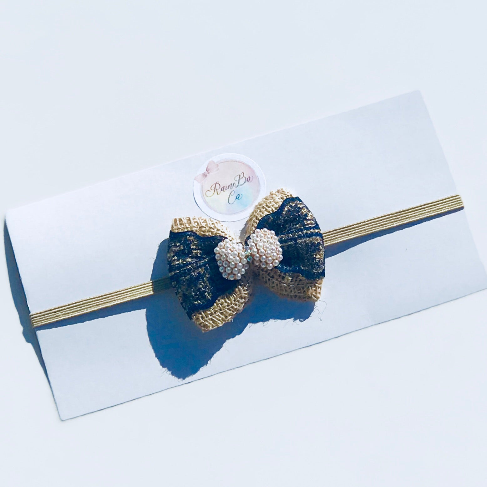 Navy Vintage Bow