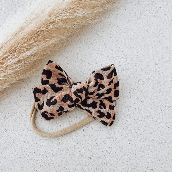 Leopard Lovers Bow
