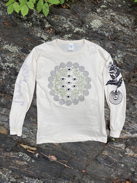 9 Labyrinths Organic Cotton Shirt Natural | S - XL
