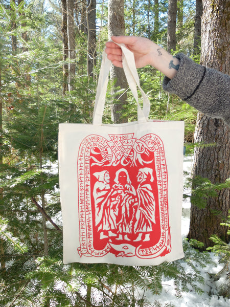 Norns Tote bag