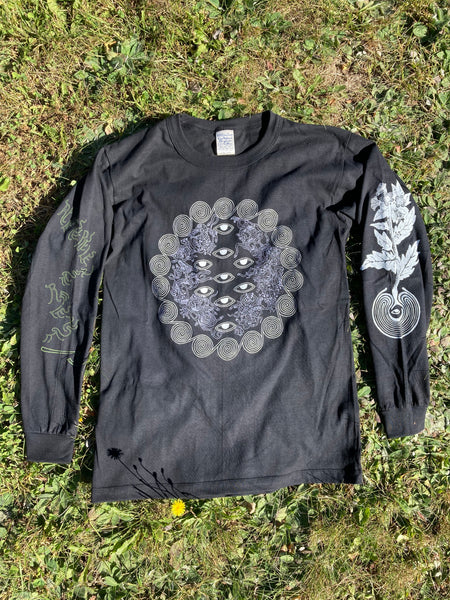 9 Labyrinths Organic Cotton Black Shirt | S - XL
