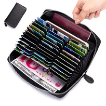 36 Card Slots Holder Long Wallet