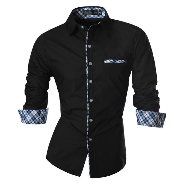 2018 Spring Autumn Features Shirts Men Casual Jeans Shirt New Arrival Long Sleeve Casual Slim Fit Male Shirts