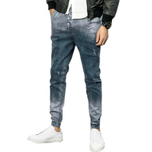 Men Spring Hot Sale Skinny Jeans Casual Slin Fit Ankle-length Denim Jeans Pants