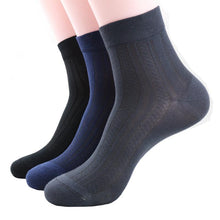 high quality bamboo men summer style dress socks 3 pairs per bag