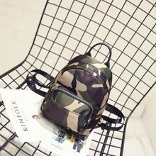 2018 New Arrival Camouflage Waterproof Nylon Lady Women's Backpack