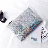 Colored stone pattern Women's Clutches Luxury shiny ladies evening bags