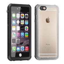 Slim Clear TPU Waterproof Case For iPhone 6 6s Underwater Swimming Diving 360 Full Protector Case