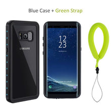 For Samsung Galaxy S8 Waterproof Case Shockproof Cover Transparent 360 Full Protection