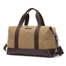 Large Capacity Canvas Travel Bags Casual Men Hand Luggage Travel Duffle Bag