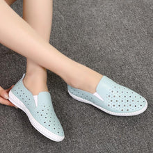New Summer Women's Shoes Genuine Leather Flats Shoes Female Casual Flat Woman Loafers Leather